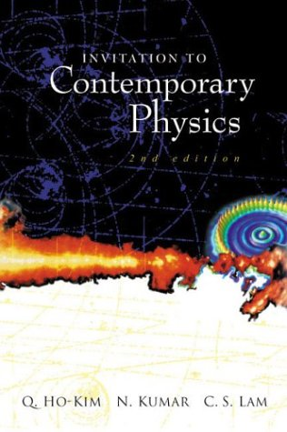Invitation to Contemporary Physics 2nd 2004 edition cover