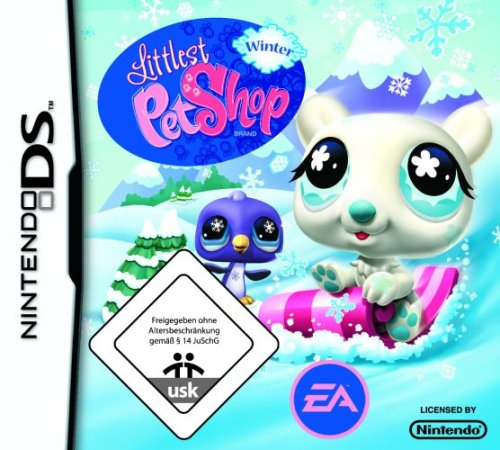 Littlest Pet Shop: Winter Nintendo DS artwork