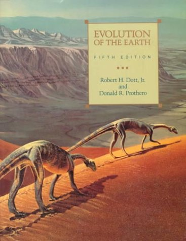 Evolution of the Earth  5th 1994 9780070178038 Front Cover