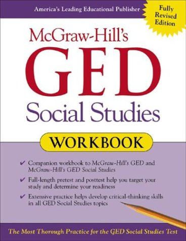 McGraw-Hill's GED Social Studies   2003 (Workbook) 9780071407038 Front Cover