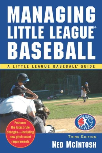 Managing Little League Baseball  3rd 2008 edition cover