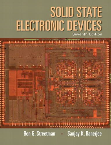 Solid State Electronic Devices  7th 2015 edition cover