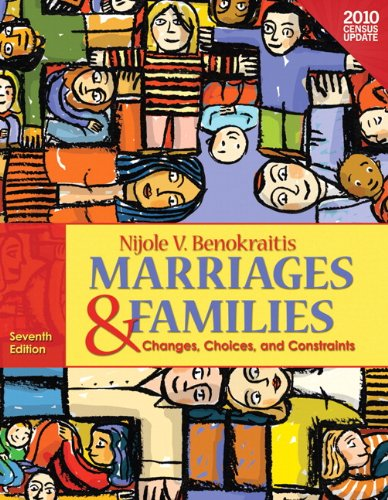 Marriages and Families Census Update, Books a la Carte Edition  7th 2012 edition cover