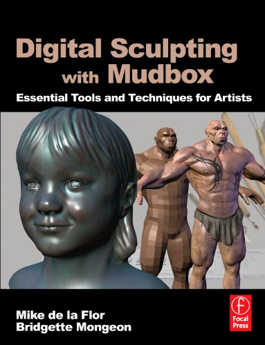 Digital Sculpting with Mudbox Essential Tools and Techniques for Artists  2010 edition cover