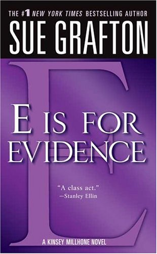 E Is for Evidence  N/A edition cover