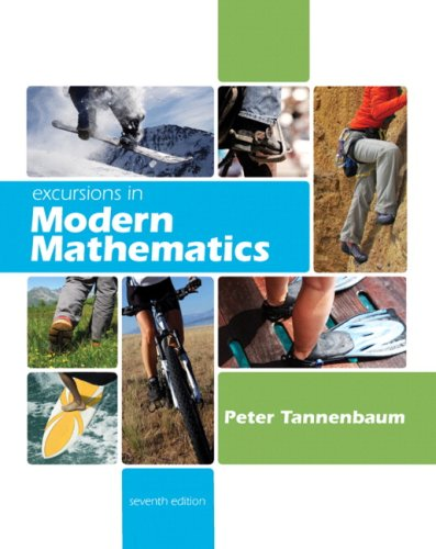 Excursions in Modern Mathematics  7th 2010 edition cover