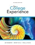 The College Experience:   2015 edition cover