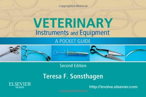 Veterinary Instruments and Equipment A Pocket Guide 2nd 2010 edition cover