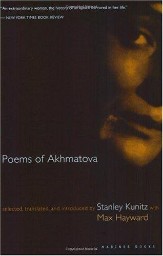 Poems of Akhmatova   1997 edition cover