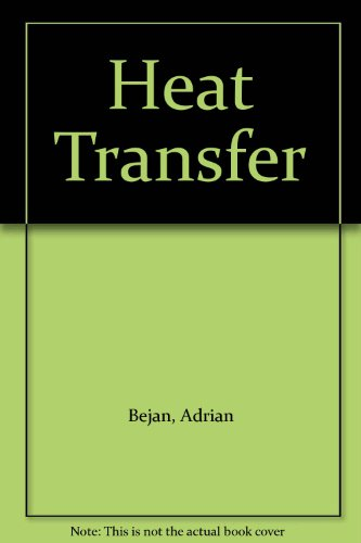 Heat Transfer with Software IBM 3.5 and IBM 5.25 Set  N/A 9780471595038 Front Cover