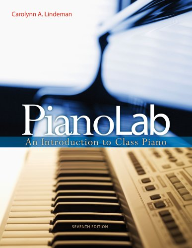 PianoLab An Introduction to Class Piano 7th 2012 9780495917038 Front Cover
