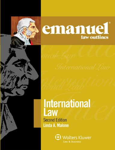 Elo International Law 2011 2nd 2011 (Student Manual, Study Guide, etc.) edition cover