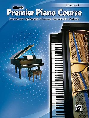 Premier Piano Course Lesson Book, Bk 5  N/A edition cover