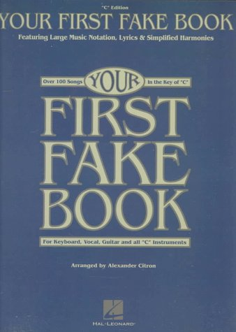 Your First Fake Book  N/A edition cover