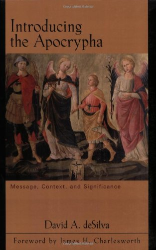 Introducing the Apocrypha Message, Context, and Significance N/A edition cover