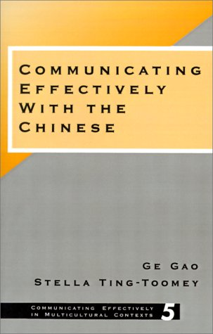 Communicating Effectively with the Chinese   1998 edition cover