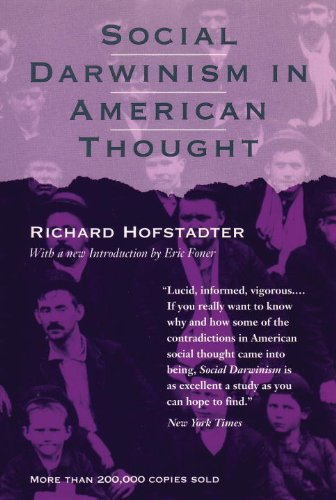 Social Darwinism in American Thought  1992 (Reprint) edition cover
