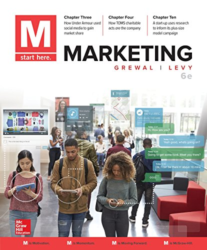 Loose Leaf for M: Marketing  6th 2019 9781260158038 Front Cover