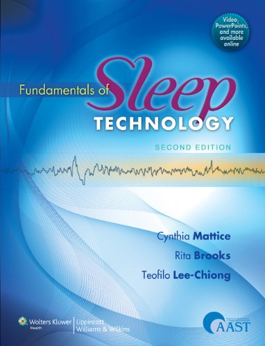 Fundamentals of Sleep Technology  2nd 2012 (Revised) edition cover