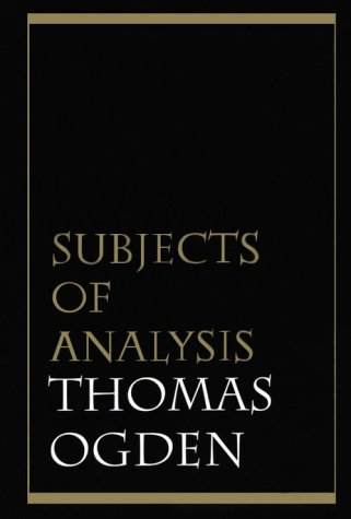 Subjects of Analysis  N/A edition cover