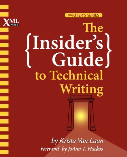 Insider's Guide to Technical Writing   0 edition cover