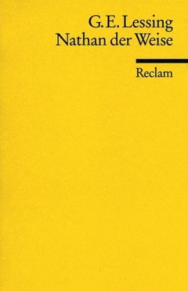 NATHAN DER WEISE 1st edition cover