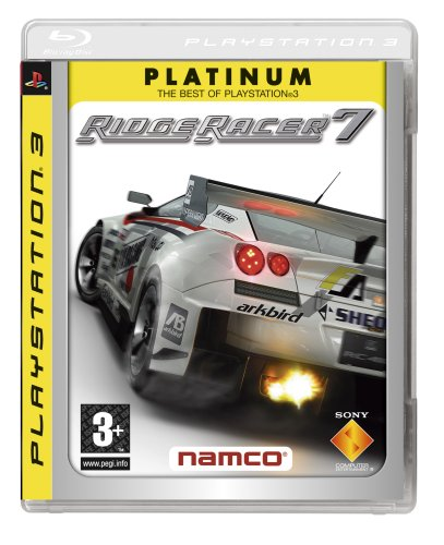 Ridge Racer 7 - Platinum Edition (PS3) PlayStation 3 artwork