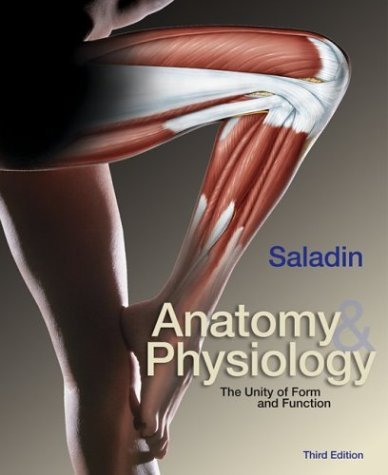 Anatomy and Physiology The Unity of Form and Function with OLC Bind-In Card 3rd 2004 (Revised) 9780072429039 Front Cover