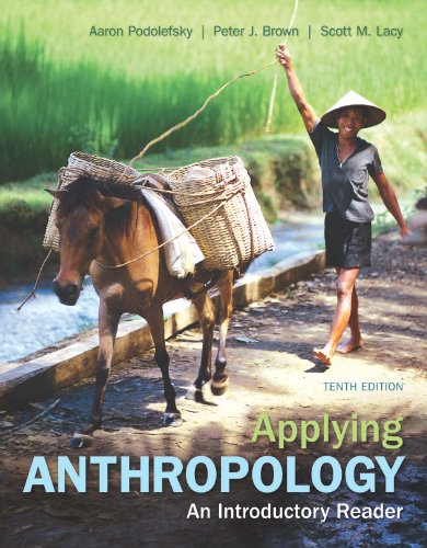 Applying Cultural Anthropology An Introductory Reader 9th 2013 edition cover