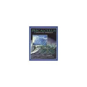 Precalculus A Graphing Approach  1995 edition cover