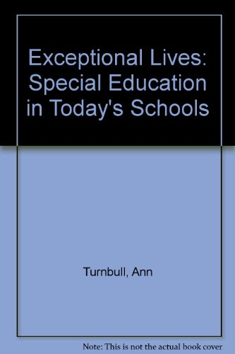 Exceptional Lives Special Education in Today's Schools, Student Value Edition 7th 2013 edition cover