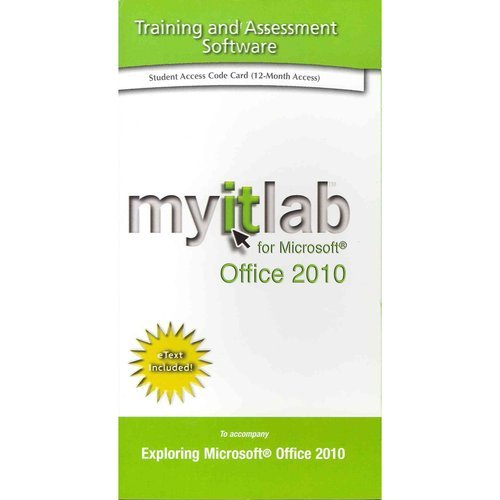 Myitlab with Pearson EText -- Access Code -- for Office 2010   2014 edition cover
