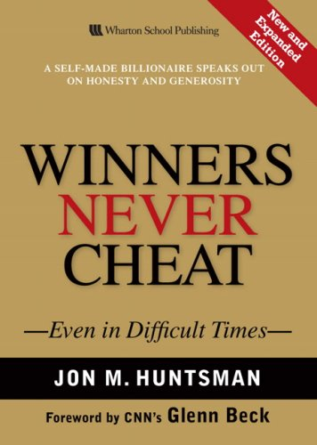 Winners Never Cheat Even in Difficult Times  2009 (Expanded) edition cover