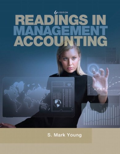 Readings in Management Accounting  6th 2012 edition cover