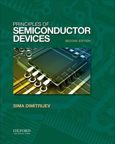 Principles of Semiconductor Devices  2nd 2011 edition cover