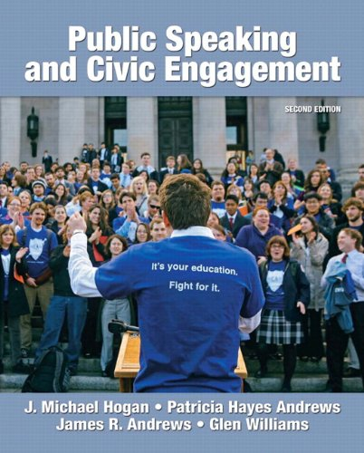 Public Speaking and Civic Engagement  2nd 2011 9780205799039 Front Cover