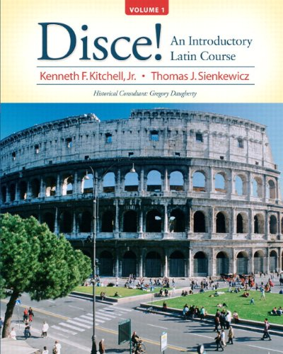 Disce! an Introductory Latin Course, Volume 1 Plus MyLatinLab (multi-Semester Access) with EText -- Access Card Package   2011 9780205997039 Front Cover