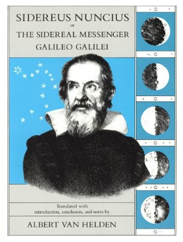 Sidereus Nuncius or the Sidereal Messenger  74th 1989 edition cover