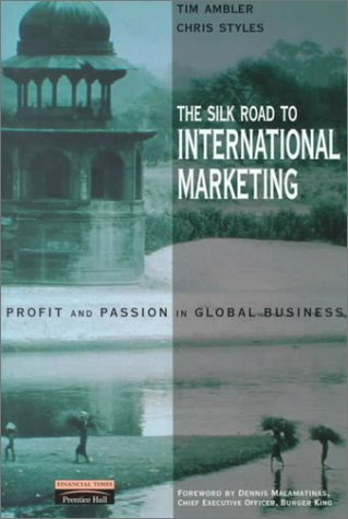 Silk Route to International Marketing   2000 9780273642039 Front Cover