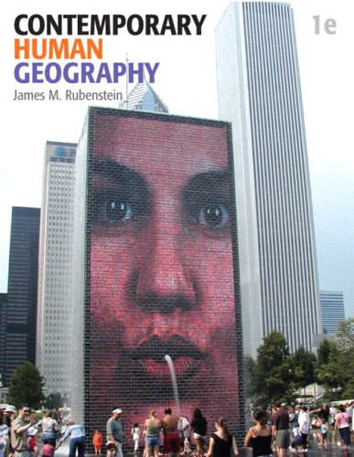 Contemporary Human Geography   2010 edition cover