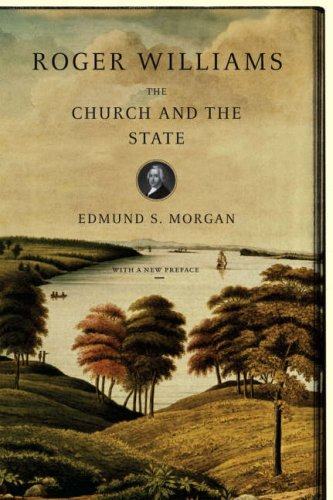Roger Williams The Church and the State Reprint edition cover