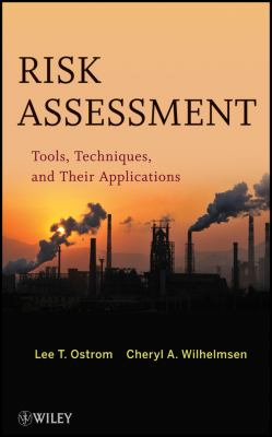 Risk Assessment Tools, Techniques, and Their Applications  2012 edition cover
