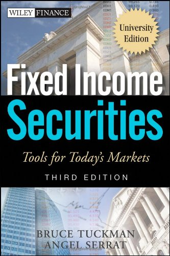 Fixed Income Securities Tools for Today's Markets 3rd 2012 edition cover