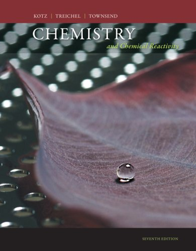 Chemistry and Chemical Reactivity  7th 2009 edition cover