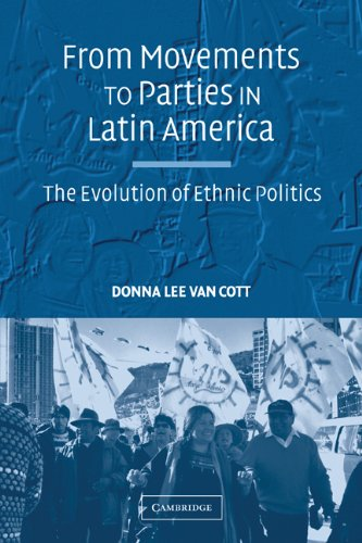 From Movements to Parties in Latin America The Evolution of Ethnic Politics  2007 9780521707039 Front Cover