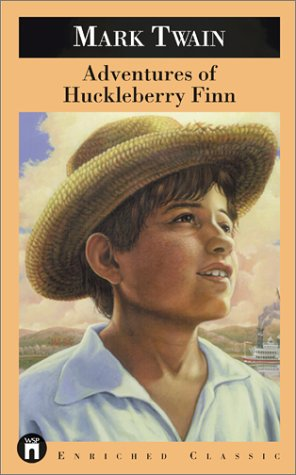 Adventures of Huckleberry Finn   1994 (Reprint) 9780671888039 Front Cover