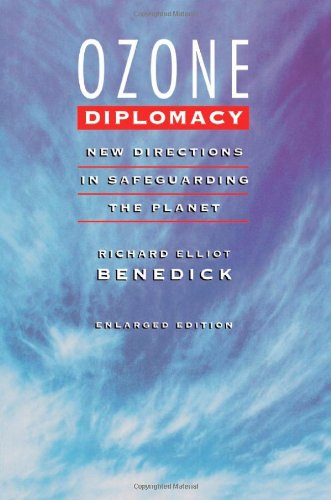Ozone Diplomacy New Directions in Safeguarding the Planet 2nd 1998 (Enlarged) edition cover
