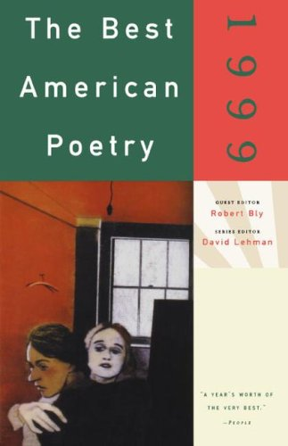 Best American Poetry 1999   1999 edition cover