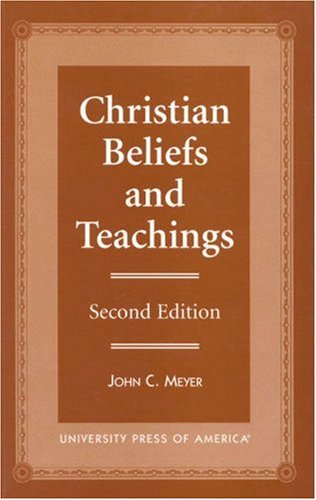 Christian Beliefs and Teachings  2nd 1997 edition cover