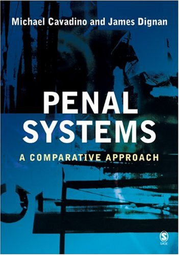 Penal Systems A Comparative Approach  1997 edition cover